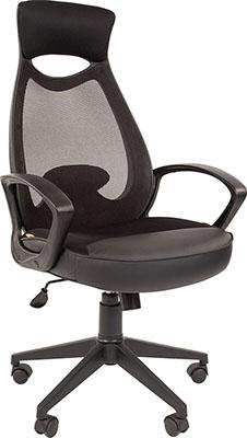 цена на Кресло руководителя Chairman 840 черный пластик TW-01 черный 00-07025290