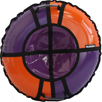 Тюбинг Hubster Sport Pro фиолетовый-оранжевый 120 см во5057-4 тюбинг hubster sport pro 90cm red blue во4196 4