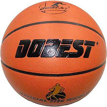 Мяч баскетбольный DoBest PK400 р.7 синт. кожа коричн. мяч для н т dobest ba 02 6шт уп
