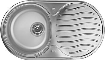Кухонная мойка Teka BASICO DR-78 1B 1D MCTEX 10130003 кухонная мойка teka classic 1b mctxt