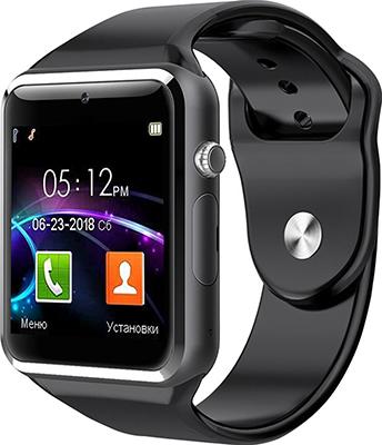 Часы-телефон JET PHONE SP1 черный
