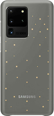 Чехол (клип-кейс) Samsung S20 Ultra (G988) LED-Cover white EF-KG988CJEGRU