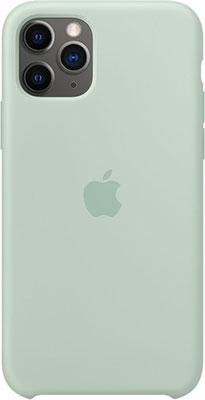 Фото - Чехол (клип-кейс) Apple iPhone 11 Pro Silicone Case - Beryl MXM72ZM/A чехол клип кейс apple silicone case для iphone 8 7 цвет product red красный mqgp2zm a