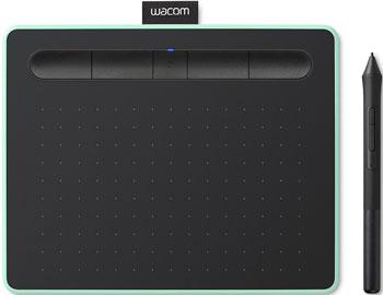 Графический планшет Wacom Intuos M Bluetooth (CTL-6100WLE-N) фисташковый перо wacom pen 2k lp 190k для intuos
