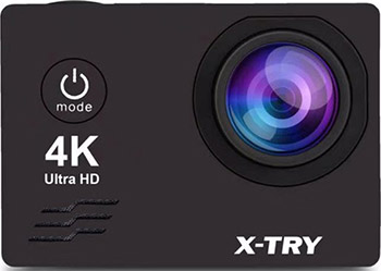 Экшн-камера X-TRY XTC164 NEO POWER KIT 4K WiFi