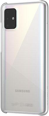 Чехол (клип-кейс) Samsung Galaxy A51 WITS Premium Hard Case прозрачный (GP-FPA515WSATR) клип кейс wits samsung galaxy a51 градиент blue gp fpa515wsblr