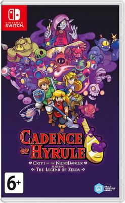 Видеоигра Nintendo Switch: Cadence of Hyrule: Crypt of the NecroDancer