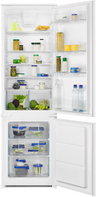 Встраиваемый двухкамерный холодильник Zanussi ZNFR18FS1