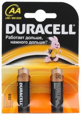 Батарейка Duracell LR6-2BL BASIC (40/120/16320) батарейки duracell аа lr6 2bl basic 12 шт