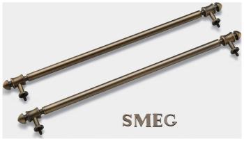 Комплект боковых релингов + логотип Smeg KITKCO-2