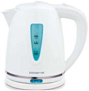 Чайник электрический Polaris PWK 1038 C белый цена и фото