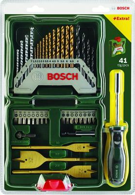 Набор принадлежностей Bosch Titanium X-Line 40 шт. 2607017334 цена и фото