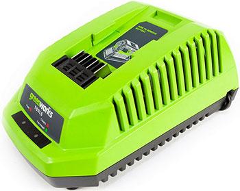 Зарядное устройство Greenworks 40 V G-max G 40 C 2904607 воздуходувка greenworks 40 v g max g 40 ab без аккумулятора и зарядного устройства 2400807