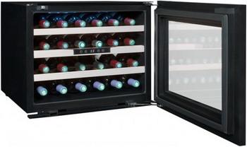 Встраиваемый винный шкаф Climadiff Avintage AVI 24 PREMIUM чёрный с чёрной рамкой цена
