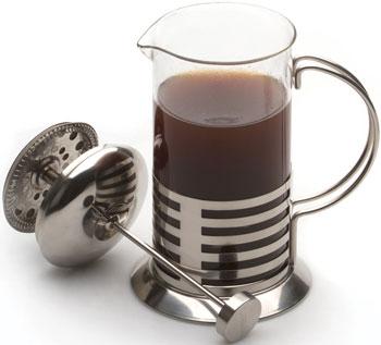 Фото - Французский пресс для кофе/чая Berghoff 600мл (с полосками) 1106801 френч пресс 0 6 л berghoff studio 1106801