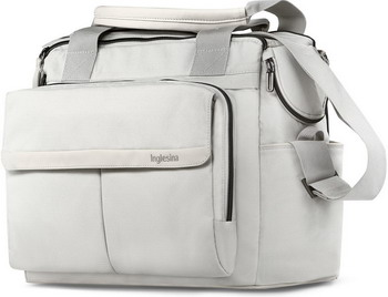 Сумка к коляске Inglesina DUAL BAG ICEBERG GREY сумка рюкзак inglesina back bag aptica iceberg grey