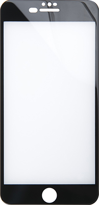 Защитное стекло Red Line iPhone 6 Plus/6S Plus/7 Plus/8 Plus Full Screen (3D) temp glass Silicone Frame черный защитное стекло для iphone 7 plus cellular line tempglassiph755