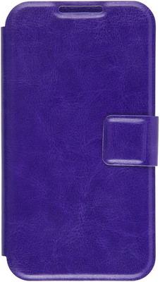 Чехол (флип-кейс) Red Line iBox Universal для телефонов 4 2-5 дюйма (фиолетовый)