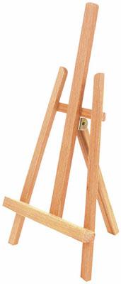Мольберт настольный Brauberg ART CLASSIC бук 16х42х19 см высота холста 30 см 190658
