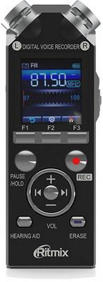 Цифровой диктофон Ritmix RR-989 4Gb black