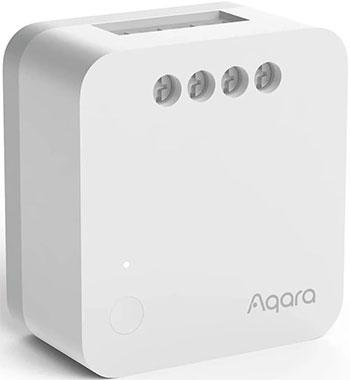 Беспроводное реле одноканальное (без нейтрали) Xiaomi Aqara Single Switch Module T1 (No Neutral) SSM-U02