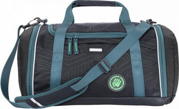 Фото - Сумка спортивная Coocazoo SporterPorter Diveman черный/бирюзовый сумка спортивная coocazoo sporterporter springman мятный
