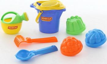 Набор для песочницы Полесье №154 полесье набор игрушек для песочницы полесье marvel человек паук 11 4 предмета