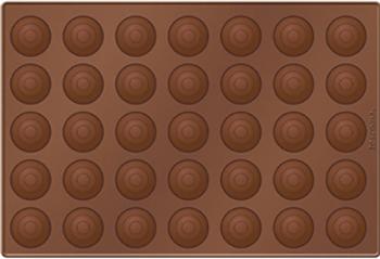 Форма для макронок Tescoma DELICIA SILICONE 629358 форма для выпечки tescoma для 12 мини кексов delicia 26 x 20 cm 623224