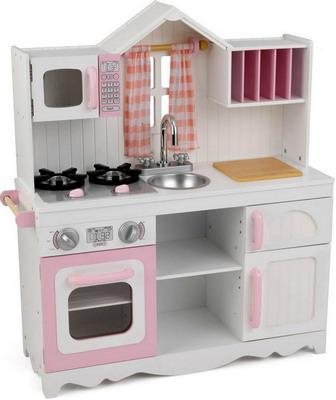 Деревянная кухня KidKraft Модерн 53222_KE кухня детская kidkraft классик