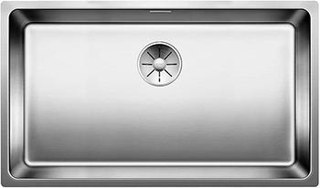 Кухонная мойка Blanco NDANO 700-U InFino нерж. сталь зерк.пол. мойка без клапана авт.
