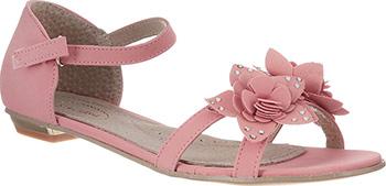 цена на Туфли открытые Аллигаша 34 размер цвет персиковый