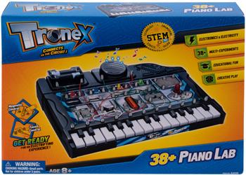 Набор Amazing Toys Tronex 32038 38 музыкальных экспериментов с пианино. Электронный конструктор 1CSC 20003408 электронный конструктор electronic blocks лампочка yj 188171445 1csc 20003424