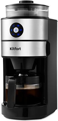 Кофемашина автоматическая Kitfort КТ-716