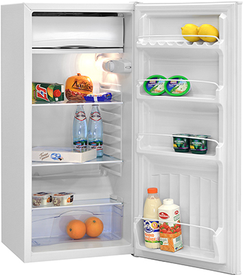 лучшая цена Однокамерный холодильник NordFrost ДХ 404 012 белый
