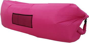 Лежак надувной Ламзак розовый во3503 цена и фото