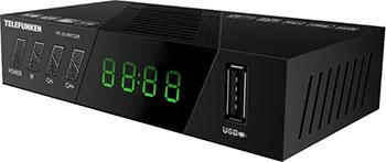 Цифровой телевизионный ресивер Telefunken TF-DVBT 226 черный цена