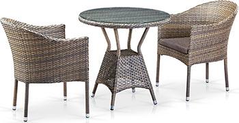 Комплект мебели Афина T 705 ANT/Y 350 G-W 1289 2Pcs Pale фото