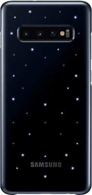 Чехол (клип-кейс) Samsung S 10+ (G 975) LED-Cover black EF-KG 975 CBEGRU клип кейс samsung galaxy s10 led ef kg973c black