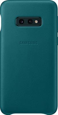 лучшая цена Чехол (клип-кейс) Samsung S 10 e (G 970) LeatherCover green EF-VG 970 LGEGRU