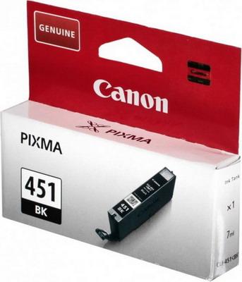 Картридж Canon CLI-451 BK 6523 B 001 Черный картридж canon cli 451 bk 6523b001