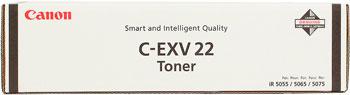 Тонер-картридж Canon C-EXV 22 1872 B 002 Чёрный
