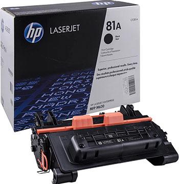 Картридж HP CF 281 A Черный