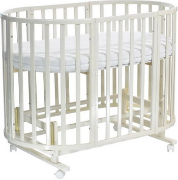 Детская кроватка Everflo Allure ivory ES-008 ПП100004003