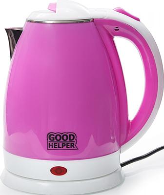 цена Чайник электрический GoodHelper KPS-180C фиолетовый онлайн в 2017 году