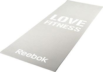 Коврик для йоги и фитнеса Reebok Love (серый) RAMT-11024GRL