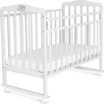 цены на Детская кроватка Sweet Baby Mario Neve (Белый) 424507  в интернет-магазинах