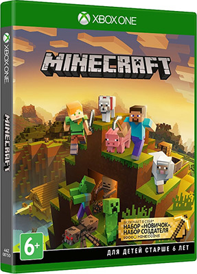 Игра для приставки Microsoft Xbox One: Minecraft Master Collection (44Z-00150) цена