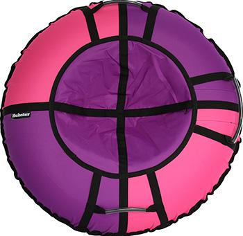 цена Тюбинг Hubster Хайп фиолетовый-розовый 120 см во4428-6 онлайн в 2017 году