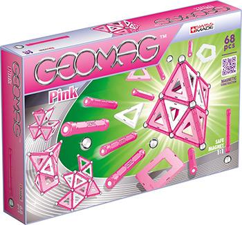 Конструктор Geomag (Pink 68 дет.) 342 конструктор guidecraft io blocks 59 дет g9604