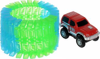 Гибкий трек 1 Toy ''Большое путешествие'' Т10199 игрушечный трек 1toy большое путешествие гибкий т10201